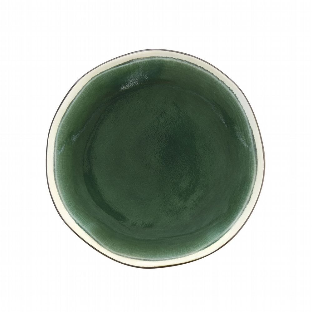 Mix & Match Stoneware - Side Plate - Green